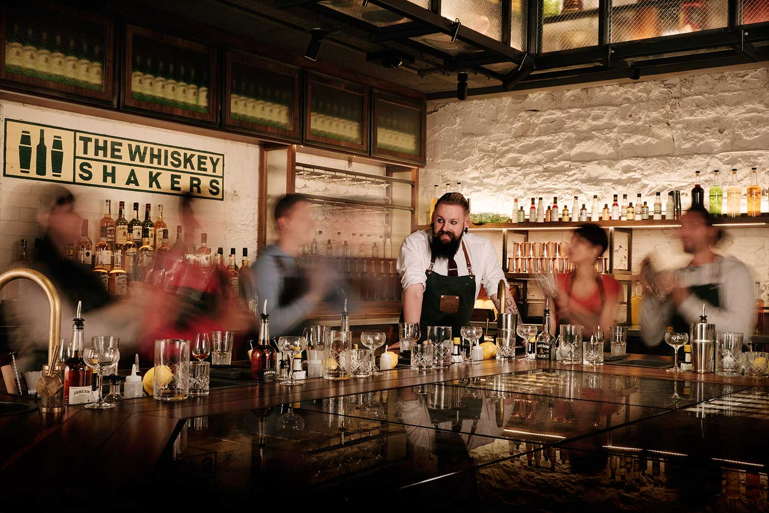 Jameson Whiskey Makers Room
